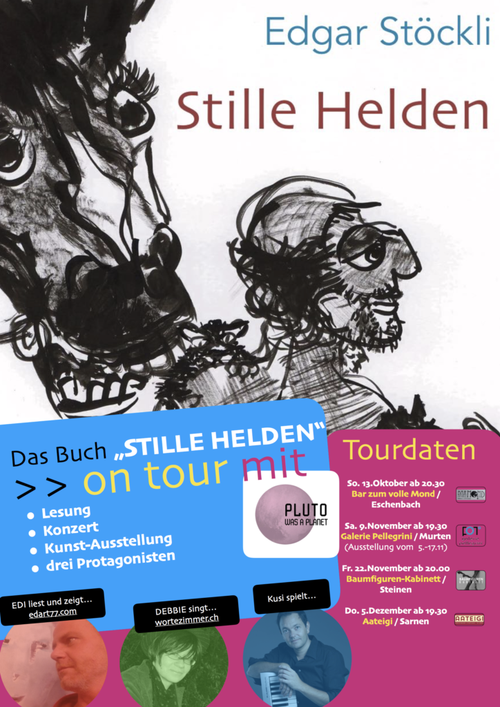 Flyer mit Tourdaten