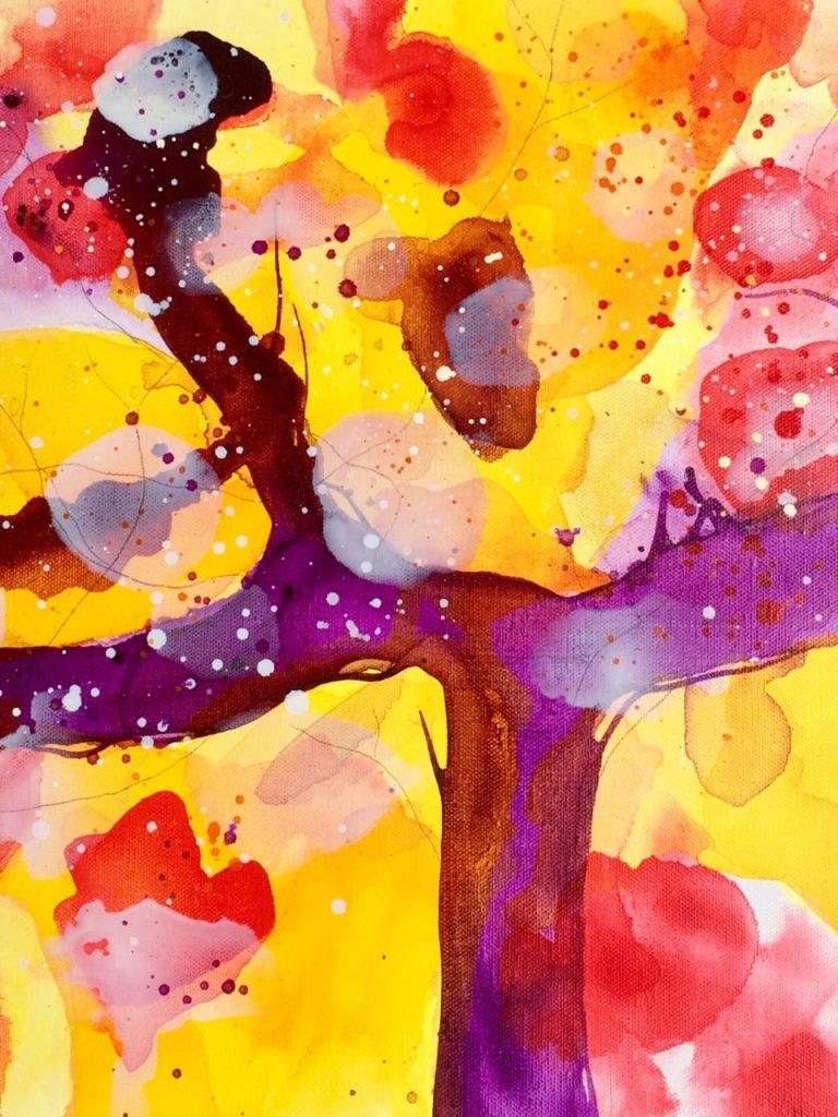 Silvia Zwahlen., Licht und Farben, Kunst