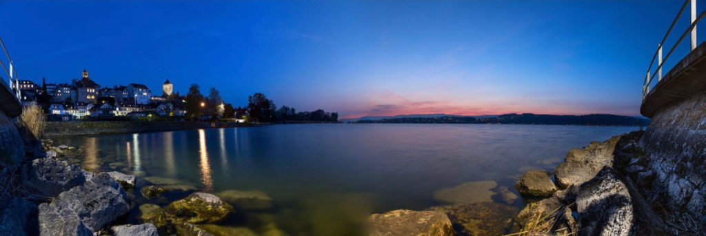 Murten am See – Panoramaaufnahme